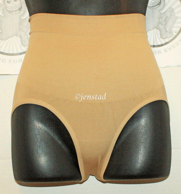 "SLIMMING WOMEN BRIEF PANTY SUPPORT 32""-34"" GARMENT BEIGE S/M SHAPEWEAR UNDERWEAR - EZ Monster Deals"