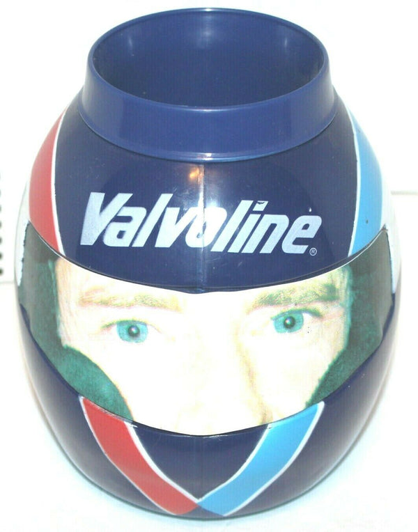 "EJ SIMPSON NASCAR HELMET SHAPE HOT COLD 5.5"" PROMO VALVOLINE 9 OZ CUP MUG - EZ Monster Deals"