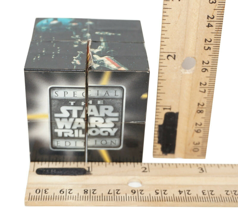 "TRILOGY PUZZLE PICTURE GAME CUBE 2"" STAR WARS PROMO TACO BELL MEAL TOY USED 1996 - EZ Monster Deals"