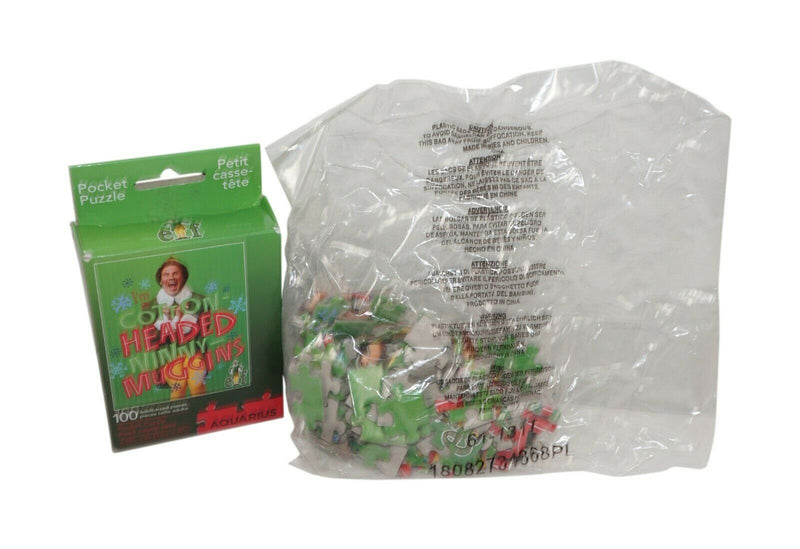 Buddy the Elf I'm A Cotton Headed Ninny Muggins - Pocket Jigsaw 100 Piece Puzzle
