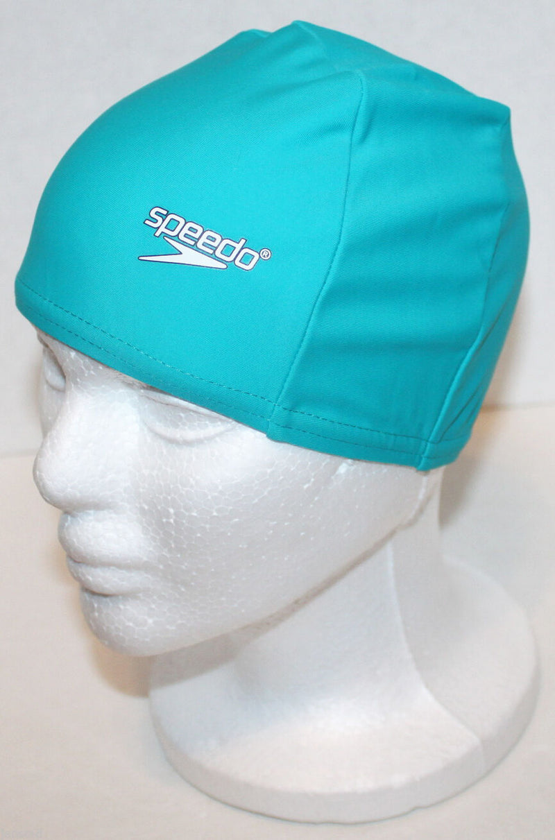 SPEEDO LYCRA SWIM CAP DARK TEAL UV PROTECTION STRETCH SUN PROTECTION SWIMWEAR - EZ Monster Deals
