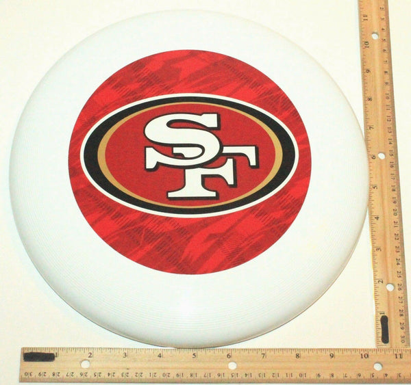"SAN FRANCISCO 49ERS - NFL FOOTBALL THROWING FLYING DISC 10.75"" TOY NEW - EZ Monster Deals"