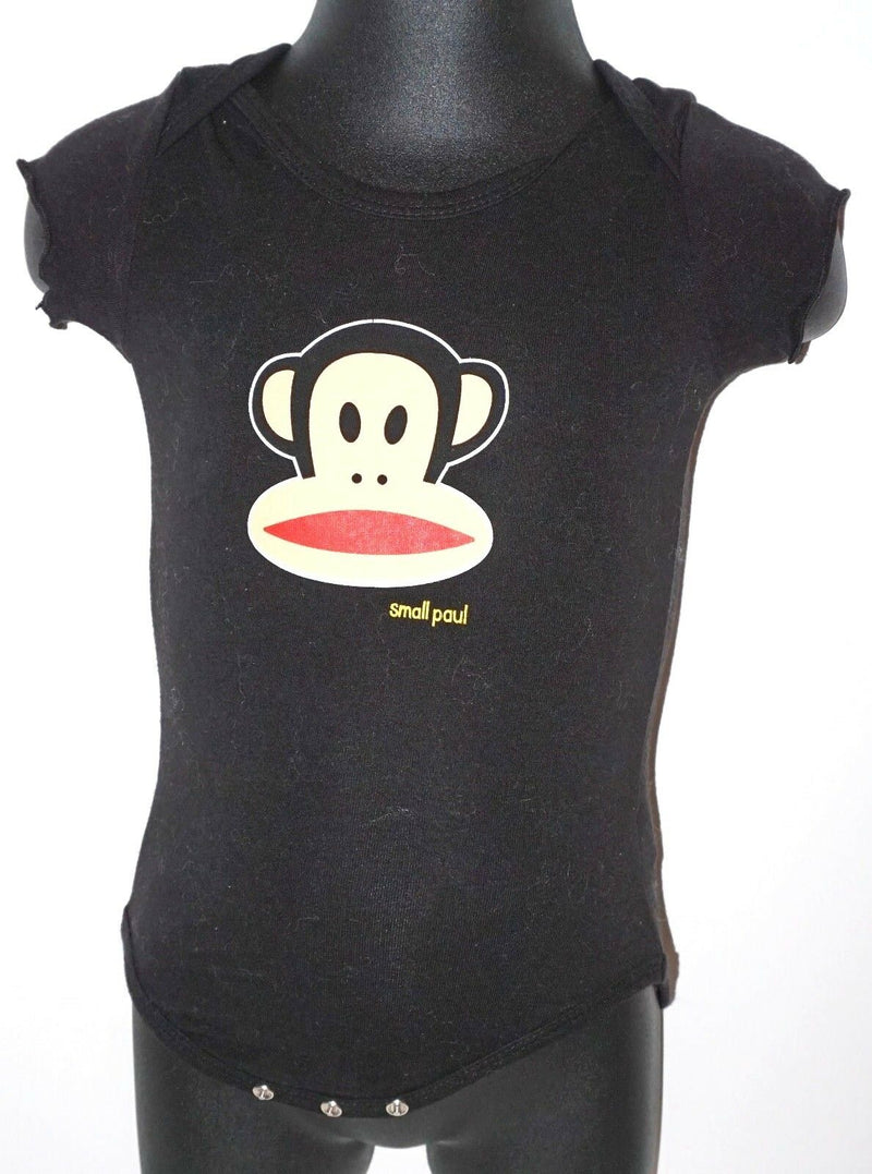 SMALL PAUL - MONKEY FACE ONE PIECE BABY SUIT 3-6 MTH SHORT SLEEVE USED-EZ Monster Deals