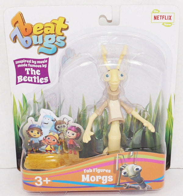 MORGS BEAT BUGS TOY FIGURE - POSEABLE CHARACTER FROM NETFLIX TV ANIMATED SHOW - EZ Monster Deals