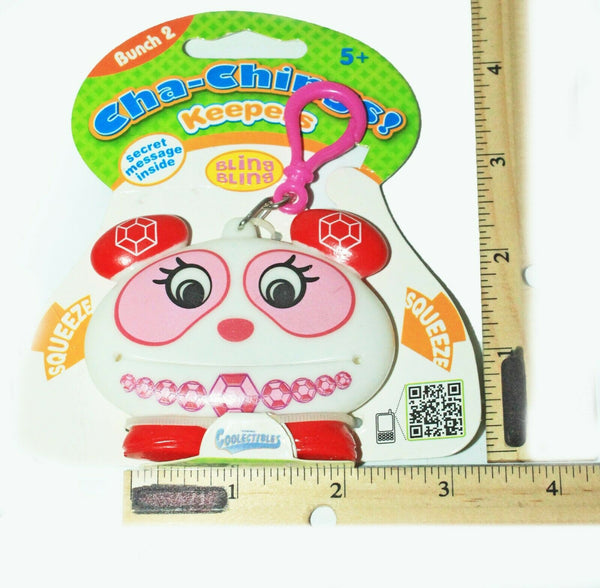 BLING BLING KEEPER CHA-CHING - BUNCH 2 VINYL TOY COLLECTIBLE KEYCHAIN CLIP 2011