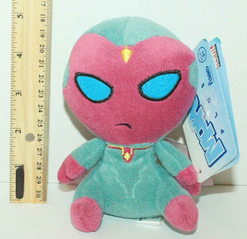"FUNKO VISION BEANBAG 5"" PLUSH TOY - MARVEL COMICS CIVIL WAR MOPEEZ FIGURE 2016"