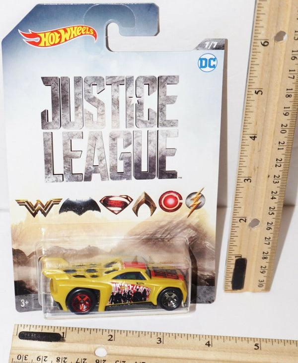 "JUSTICE LEAGUE BASSLINE - 1:64 HOT WHEELS DC COMICS TOY 2.5"" VEHICLE #7 NEW 2017-EZ Monster Deals"