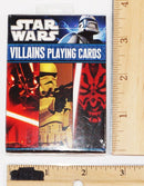 DISNEY STAR WARS - MULTIPLE CHARACTERS VILLAINS PLAYING CARDS CARTAMUNDI 2011-EZ Monster Deals
