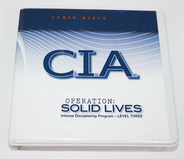 CIA OPERATION SOLID LIVES INTENSE DISCIPLESHIP RELIGIOUS LEVEL 3 AUDIO 19 CD SET-EZ Monster Deals