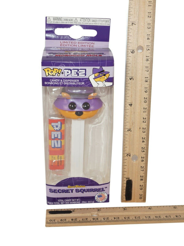 SECRET SQUIRREL FUNKO FROM HANNA BARBERA - POP PEZ FIGURE STANDARD ISSUE #32293