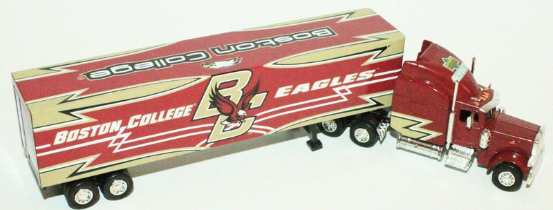 BOSTON COLLEGE EAGLES 1:80 DIECAST - NCAA SPORTS TRUCK TRAILER TOY VEHICLE 2007