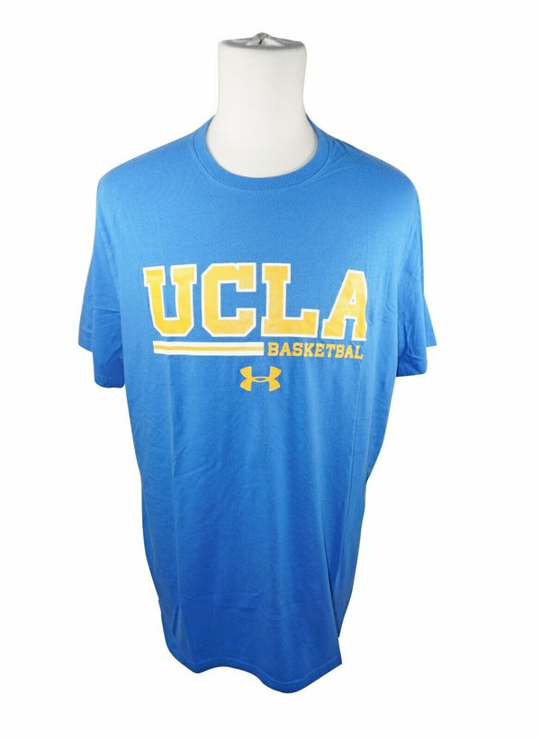 University of California Los Angeles UCLA Tee - Basketball Blue UA Shirt Large