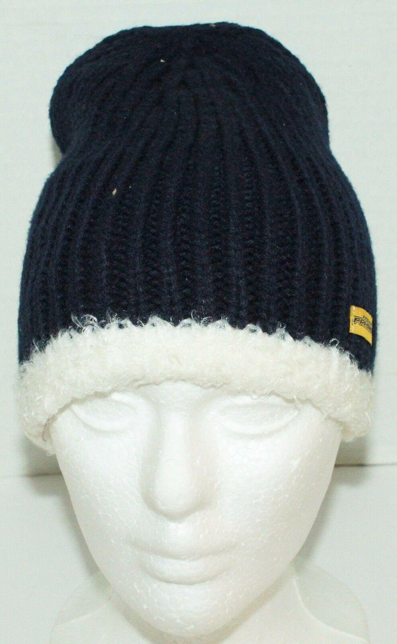 NASHVILLE PREDATORS REEBOK NHL HOCKEY UNCUFFED KNIT WOMENS BEANIE ONE SIZE - EZ Monster Deals