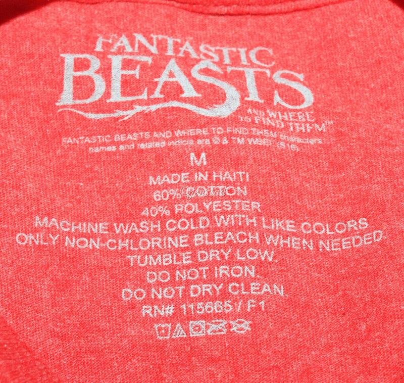 MEDIUM M SHIRT - FANTASTIC BEAST & WHERE TO FIND THEM NEWT SCAMANDER NEW 2016 - EZ Monster Deals