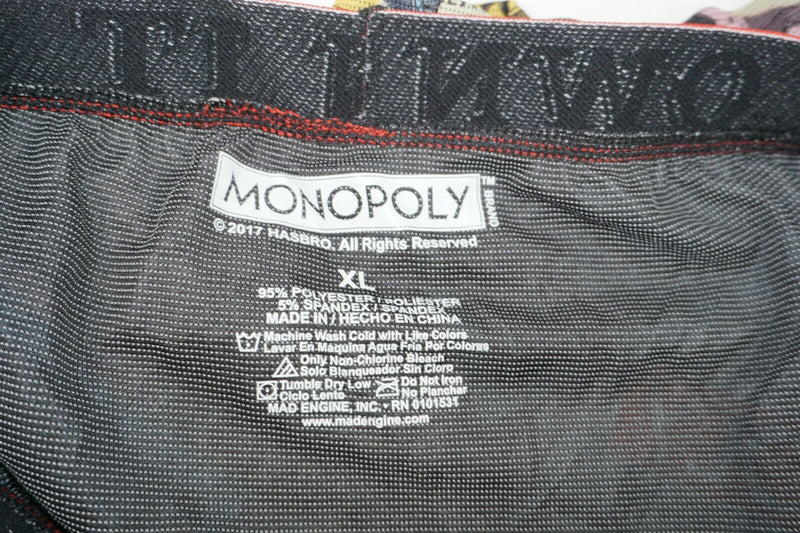 MONOPOLY OWN IT ALL MEN UNDERWEAR XLARGE - BOARD GAME BOXER BRIEF XL NEW - EZ Monster Deals