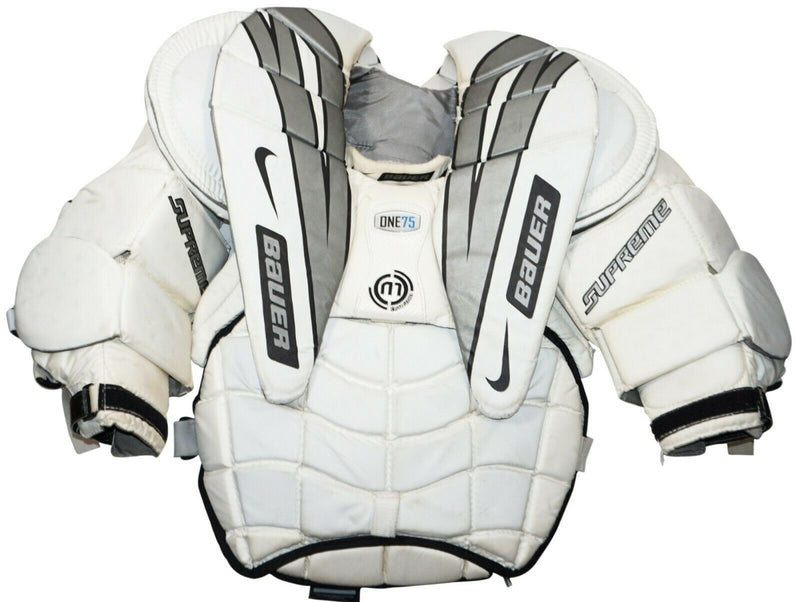 NIKE BAUER ONE75 GOAL INTERMEDIATE LARGE GOALIE CHEST & ARM HOCKEY PAD PROTECTOR
