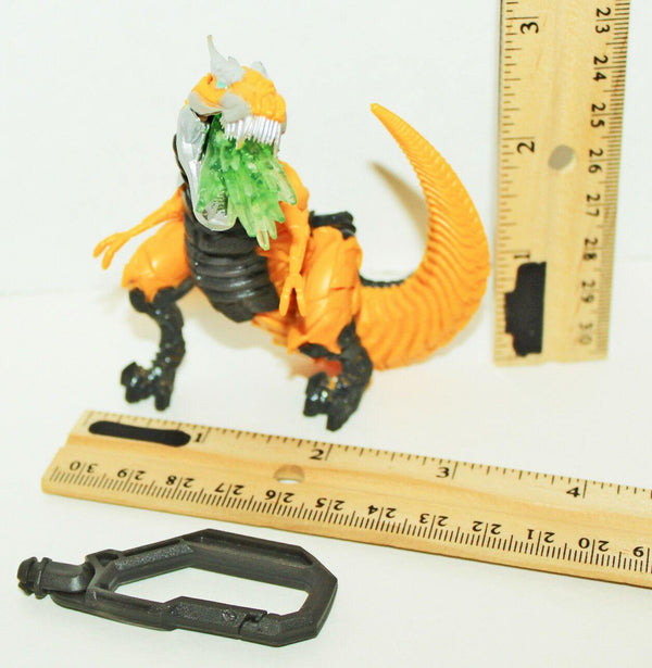 "TRANSFORMERS GRIMLOCK TOY 3.5"" TOY ACTION FIGURE #2 HASBRO 2014 LITE FORCE USED - EZ Monster Deals"