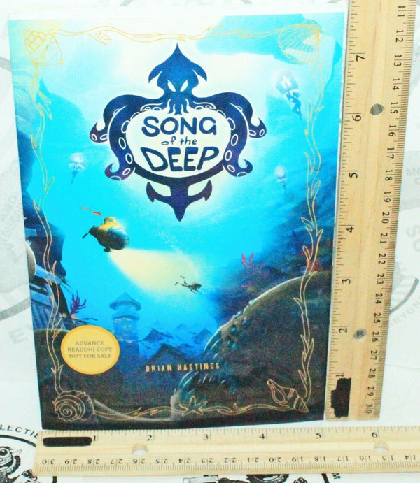 SONG OF THE DEEP SOFTCOVER JUNIOR NOVEL BOOK - BASED ON VIDEO GAME NEW 2016 - EZ Monster Deals