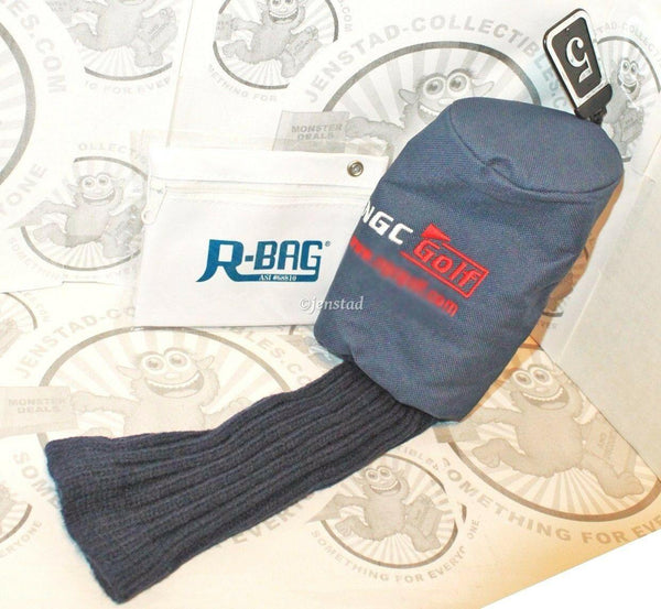 NGC DRIVER CLUB 5 PROTECTIVE COVER GOLF HEADCOVER & R-BAG ACCESSORY POUCH - EZ Monster Deals