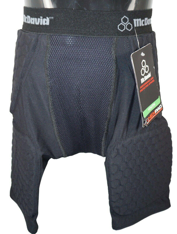 MCDAVID YOUTH MEDIUM HEX MESH THUDD - PADDED SHORT GIRDLE 28-30 HIP PADS USED - EZ Monster Deals