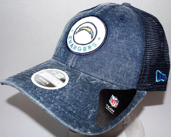 WOMENS HAT - LA SD CHARGERS BLUE NFL TEAM FOOTBALL OEM NEW ERA ONE SIZE STYLE#2 - EZ Monster Deals