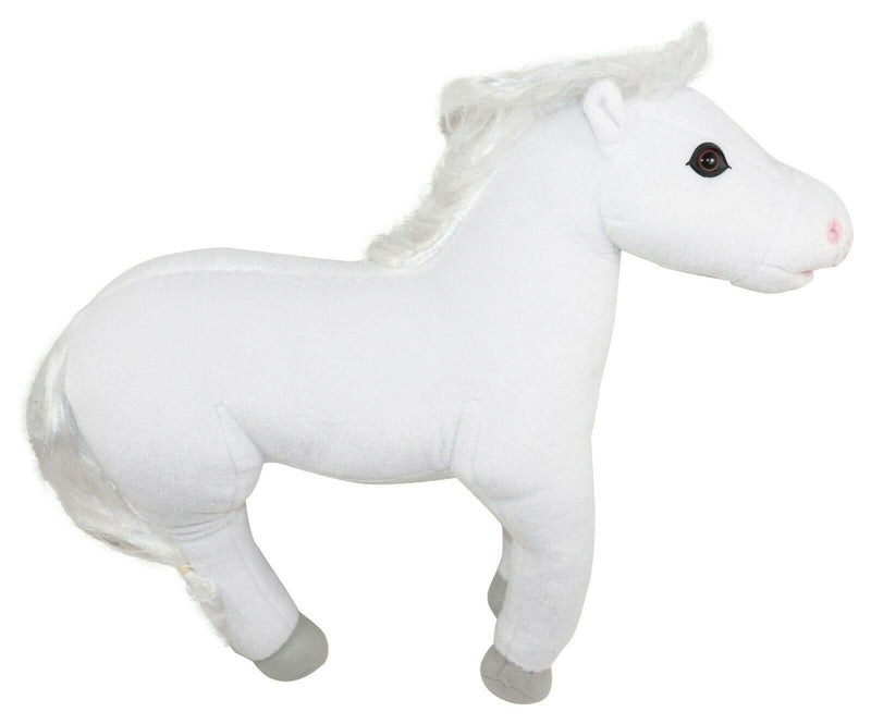 CAROUSEL PONY OR HORSE PLUSH - WHIMZY PETS STUFFED ANIMAL BLIP TOYS 2010 USED - EZ Monster Deals