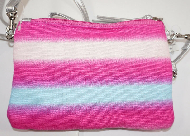 NOBO NO BOUNDARIES - SMALL CROSSBODY PASTEL PURSE BAG MULTIPLE COMPARTMENTS NEW-EZ Monster Deals