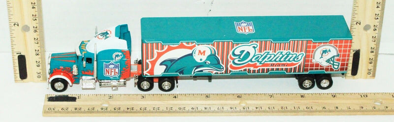 MIAMI DOLPHINS NFL FOOTBALL 1:80 DIECAST TRUCK TRACTOR TRAILER TOY VEHICLE 2005-EZ Monster Deals