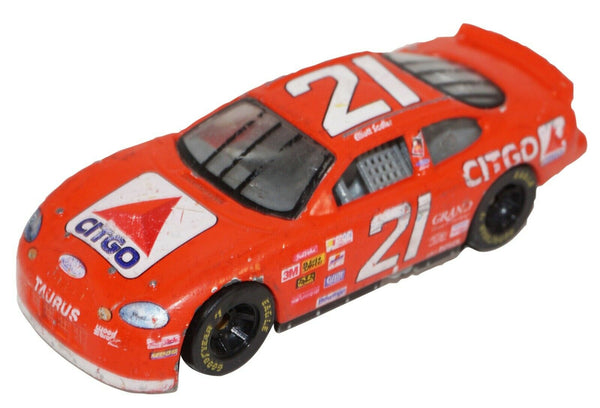 MICHAEL WALTRIP CITGO 21 DIECAST - FORD TOY CAR 1:64 RACING CHAMPIONS USED 1998 - EZ Monster Deals
