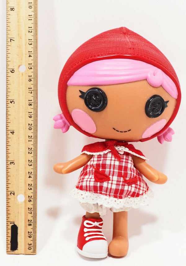 "LALALOOPSY 8"" TOY DOLL FIGURE - CAPE RIDING HOOD FROM FAIRY TALES USED 2014 - EZ Monster Deals"