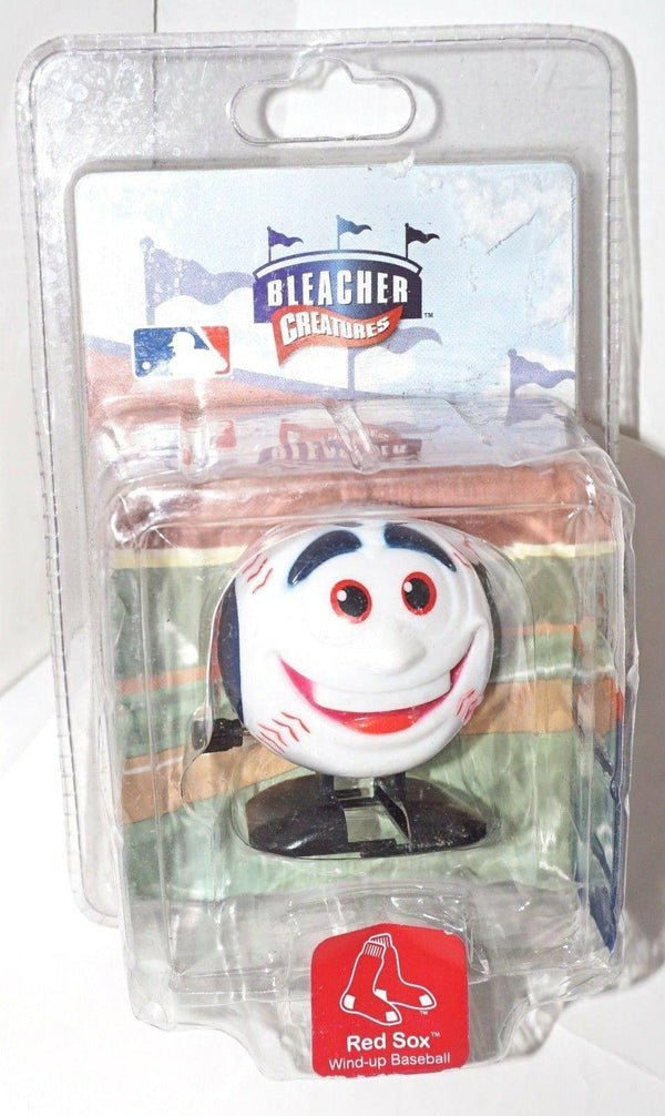 BOSTON RED SOX - MLB WIND-UP TOY BASEBALL HEAD BLEACHER CREATURES FIGURE NEW-EZ Monster Deals