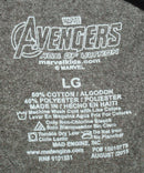 AVENGERS AGE OF ULTRON LOGO BOMB BROWN SHIRT JR LARGE OR FITS MEN WOMEN SMALL - EZ Monster Deals