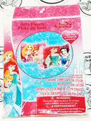 2 LOT - DISNEY PRINCESS SWIM ARM FLOATS & SURF BOARD RIDER FOR POOL SWIMMING NEW - EZ Monster Deals