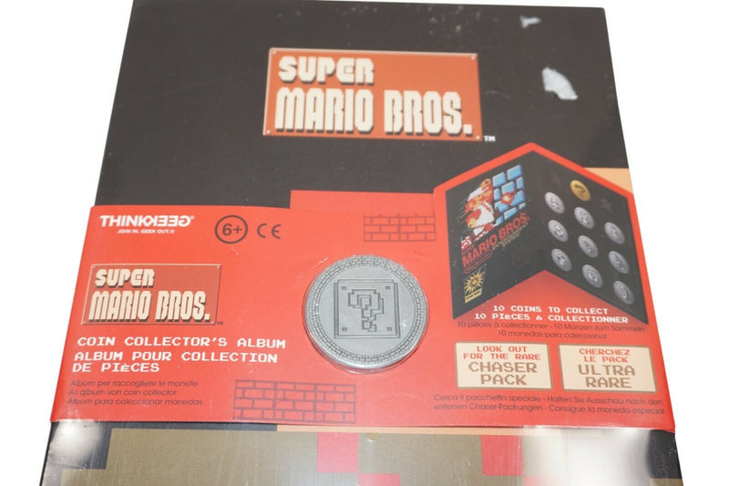 THINKGEEK - SUPER MARIO BROS FROM NINTENDO COIN + COLLECTOR ALBUM 2018 - EZ Monster Deals
