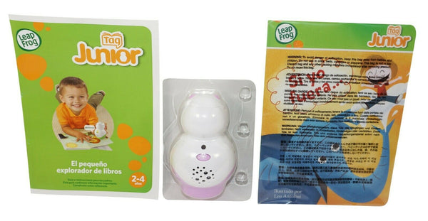 SPANISH LEAPFROG JUNIOR TAG + EL PEQUENO EXPLORADOR DE LIBROS BOOK READER #2