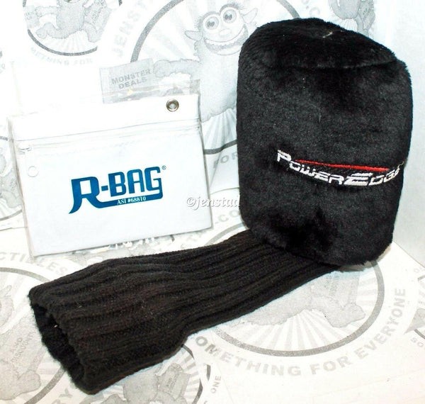 POWEREDGE #7 PROTECTIVE HEADCOVER GOLF CLUB ACCESSORY & R-BAG POUCH USED - EZ Monster Deals