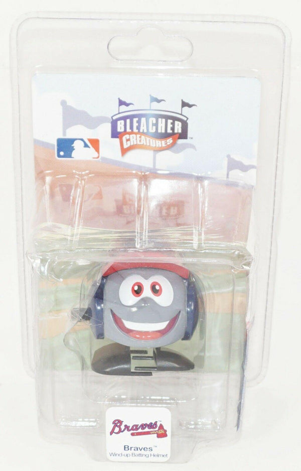 ATLANTA BRAVES - MLB WIND-UP TOY WALKING TEAM HELMET BLEACHER CREATURES NEW-EZ Monster Deals
