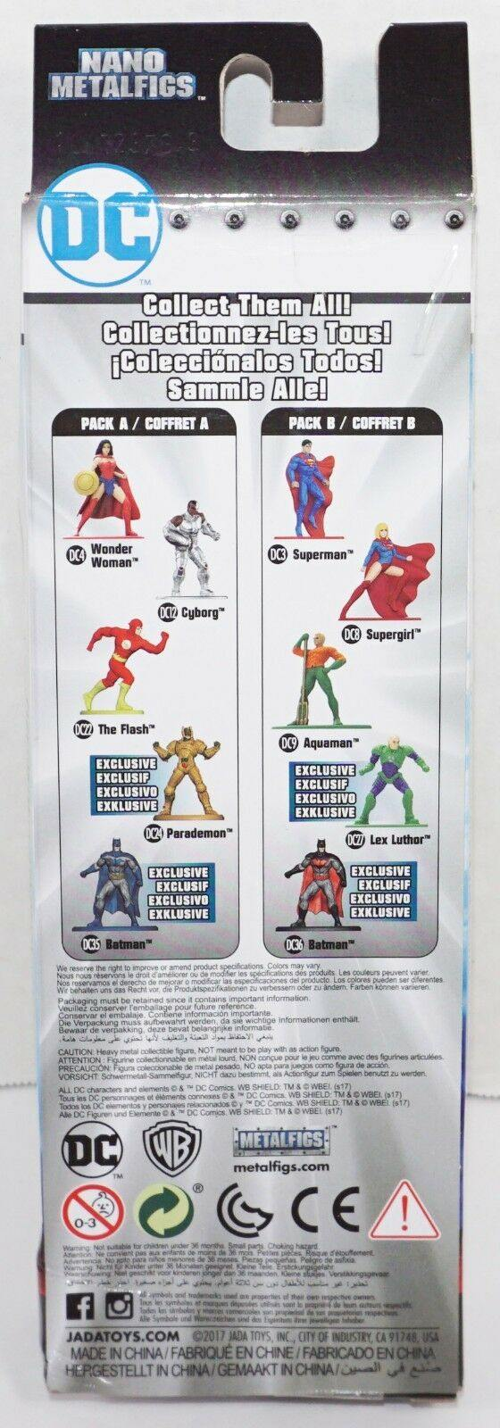 DC COMICS 5 FIGURE PACK