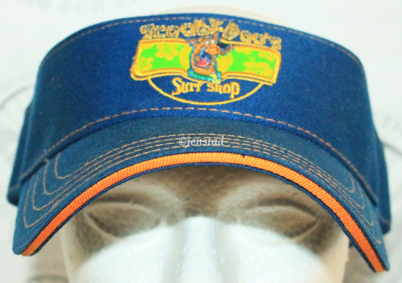 SCOOBY-DOO SURF SHOP SUN VISOR HAT - YOUTH 8/20 OR ADULT SMALL - MEDIUM NEW 2002-EZ Monster Deals