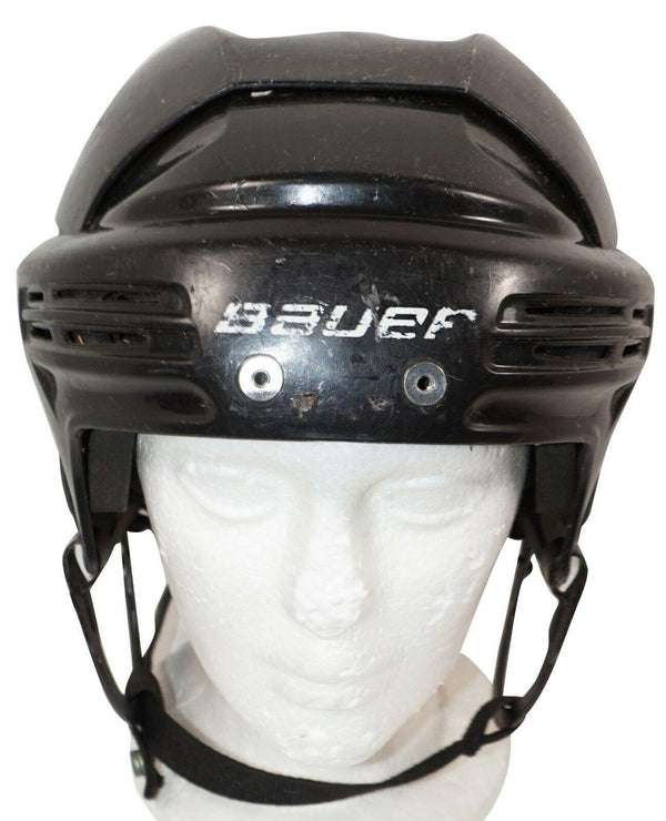 "BAUER ICE HOCKEY BLACK SR HELMET BHH2100S - ADULT SENIOR SMALL 20.4""-22.4"" USED - EZ Monster Deals"