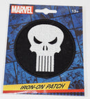 "PUNISHER LOGO OR SYMBOL - 3.5"" IRON ON PATCH AUTHENTIC MARVEL COMICS NEW 2016"