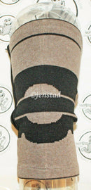 2 LOT - KNEE COMPRESSION SUPPORT BAMBOO & MAGNET THERAPY ZIPPERED ADULT SIZE - EZ Monster Deals