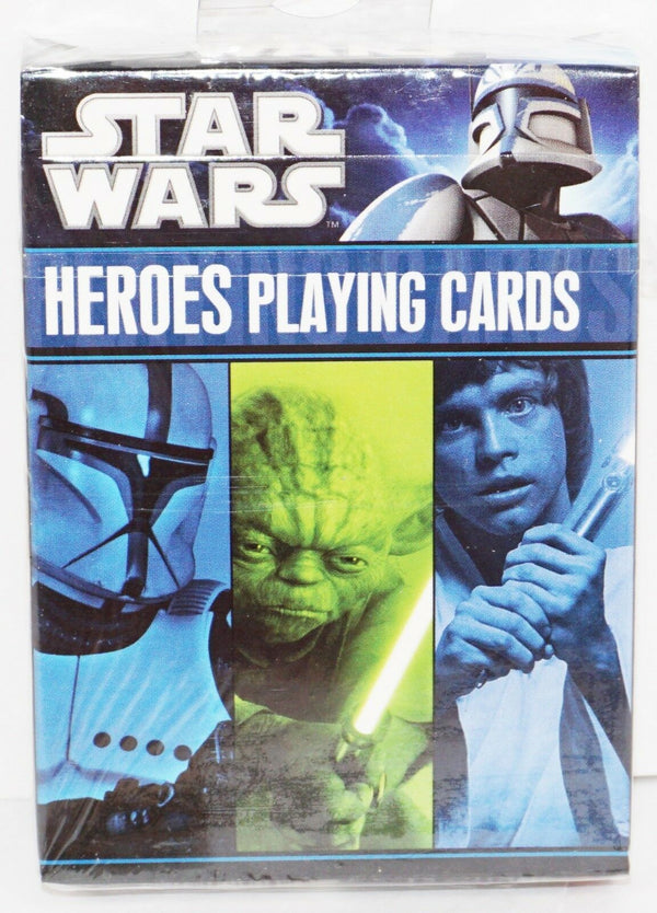 DISNEY STAR WARS - MULTIPLE CHARACTERS HEROES PLAYING CARDS CARTAMUNDI 2011 - EZ Monster Deals