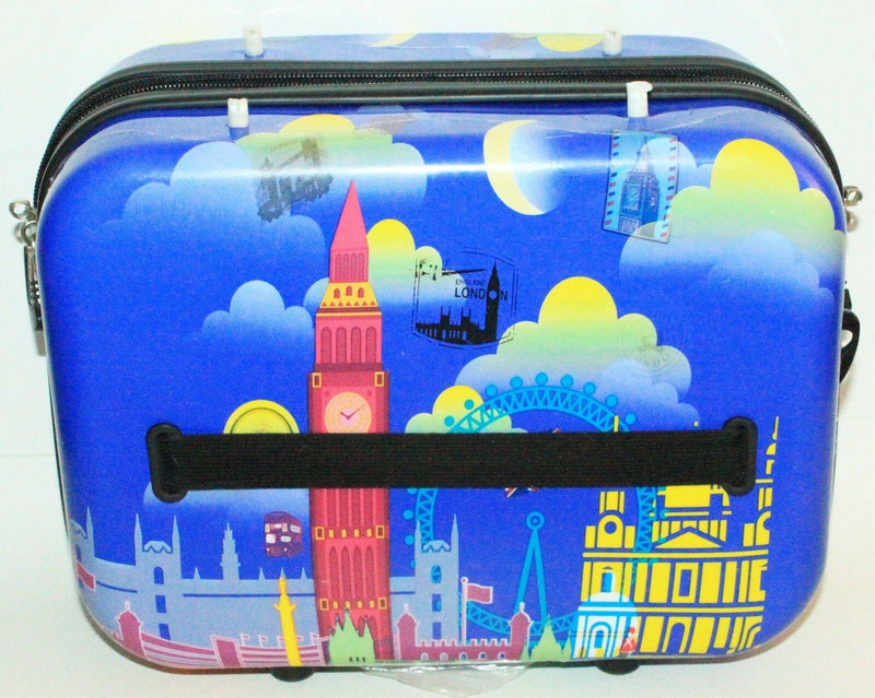 HEYS LUXURY LUGGAGE - FAZZINO LONDON THEME BEAUTY OR COSMETIC MAKEUP TRAVEL CASE - EZ Monster Deals