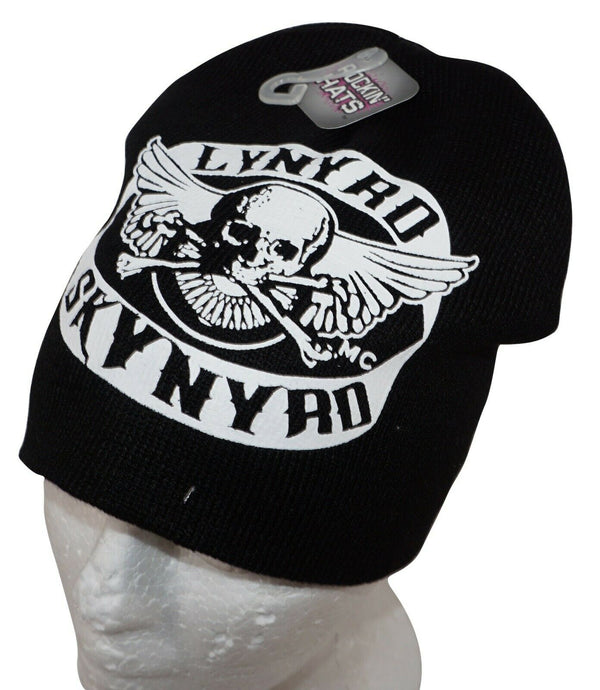 LYNYRD SKYNYRD ROCK BAND - KNIT BEANIE BLACK CAP HAT NEW 2010 - EZ Monster Deals