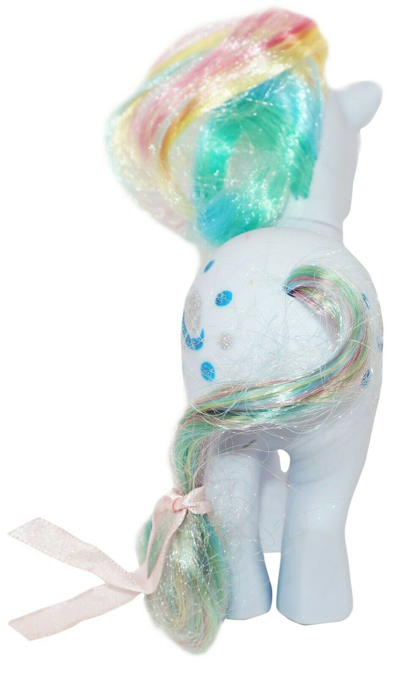 "MOONSTONE MY LITTLE PONY RAINBOW COLLECTION 5"" BLUE HORSE RETRO TOY FIGURE 2007-EZ Monster Deals"