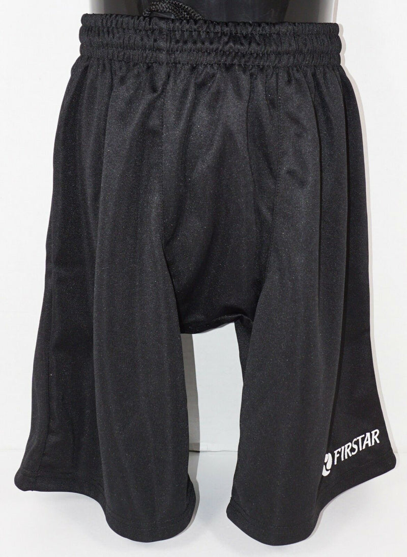 "FIRSTAR YOUTH XLARGE - LIGHTWEIGHT BLACK YXL HOCKEY SHORTS 27.5""-29.5"" NEW"