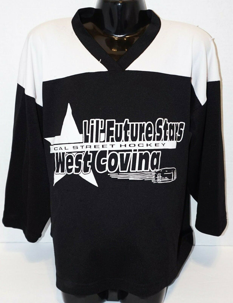 YOUTH SMALL MEDIUM XTREME BASICS BLK/WHT HOCKEY FUTURE STAR