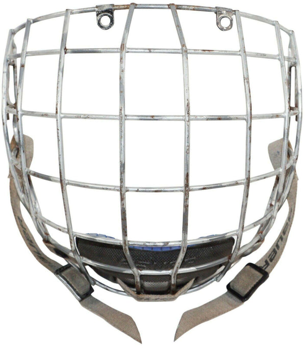 BAUER FULL CAGE ADULT LARGE FM4500 TRUE VISION II TYPE 1 FOR HOCKEY HELMET USED - EZ Monster Deals