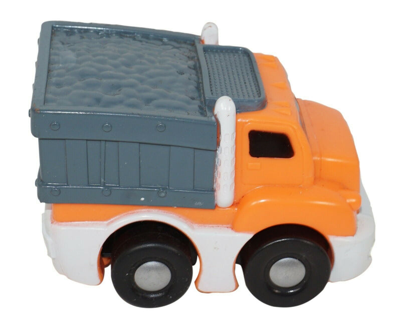 "DUMP TRUCK 2.25"" x 3"" PLASTIC TOY - PULL BACK VEHICLE KID GALAXY USED 2006 - EZ Monster Deals"